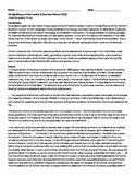 Turner Thesis Analysis