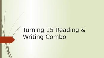 Turning 15 Reading & Writing Combo