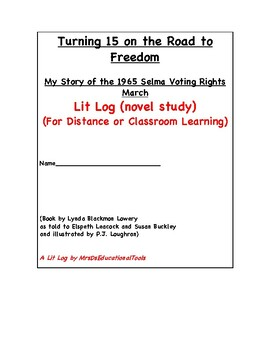 Turning 15 on the Road to Freedom Lit Log