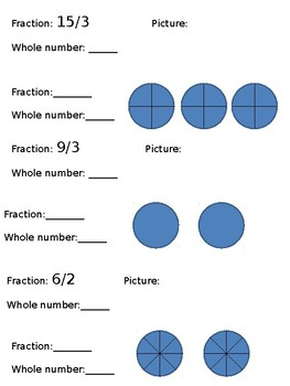 Turning Fractions into Whole Numbers