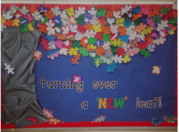 "Turning Over a ""New"" Leaf Bulletin Board"