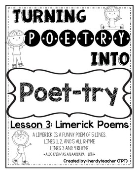 turning poetry into poet try lesson 3 limerick poems - 30 Limerick Examples Funny Cooperative