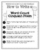 Turning Poetry into Poet-try: Lesson #4- Cinquain Poems