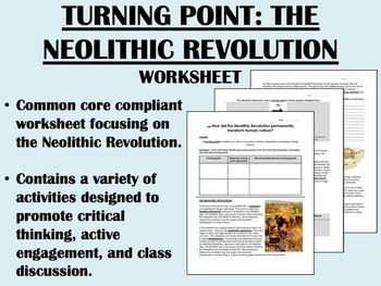turning point of neolithic revolution Chapter 1 section 2 notes chapter 1 section 2: turning point- the neolithic revolution focus question: how was the introduction of agriculture a turning point.