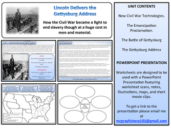 The Battle of Gettysburg Unit - American History - Turning Points