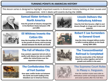 Plessy v. Ferguson Unit - American History - Turning Points