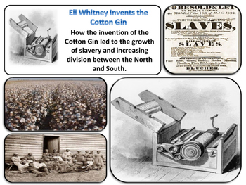 The Cotton Boom Unit - American History - Turning Points