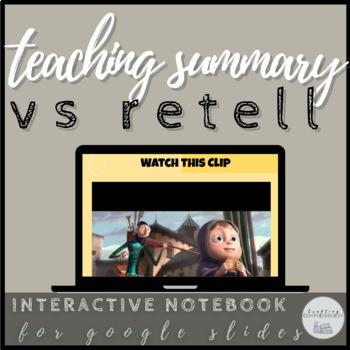 Digital Retell vs Summary: