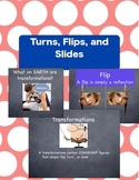 Turns,Flips,Slides (Zip File with PowerPoint and Keynote)