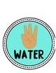 Turquoise Blue Hand Signals