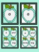 Turquoise Dot Apple  Dolch Pre-Primer Sight Word Flashcards and Posters