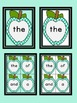 Turquoise Dot Apple  Fry First 100 Sight Word Flashcards a