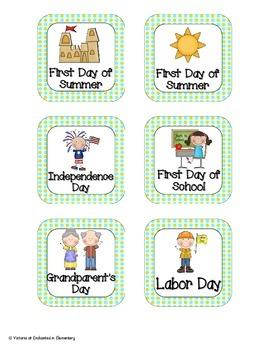 Turquoise Lime Polka Dot Holiday Calendar Pieces