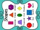 Shape Posters (Turquoise Polka Dots)