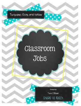 Turquoise, Yellow, and Gray Jobs