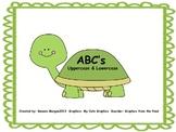 Turtle ABC's Uppercase & Lowercase