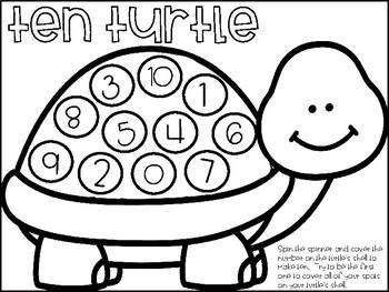 Turtle Activities Freebie