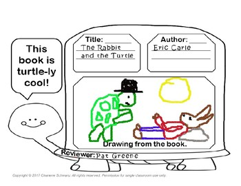 Turtle Book Report