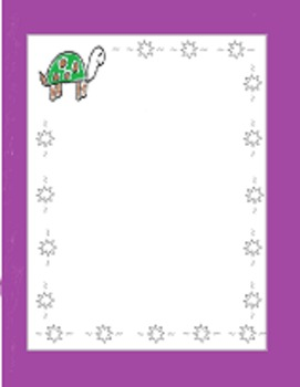 Turtle Borders and Frames for Personal or Commercial Use