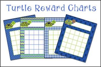 Turtle Boy Incentive Reward Charts