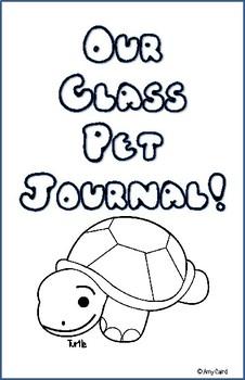 Turtle Class Pet Journal