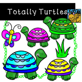 Turtle Clip Art Kid-E-Clips Commercial and Personal Use