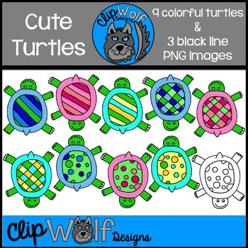 Turtle Clip Art: Personal and Commercial Use