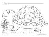 Turtle Color by Number
