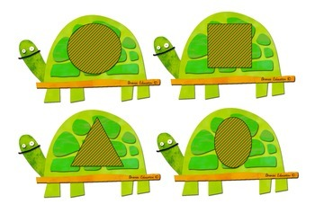 Turtle Cove 2D Shape Recognition Game