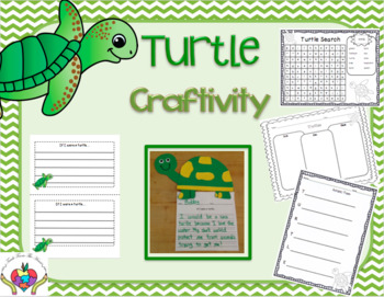Turtle Craftivity and Writing