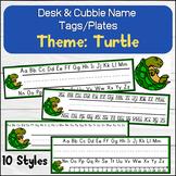 Turtle Desk Name Tags