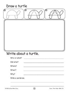 Turtle (Draw...Then Write)