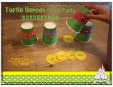 Turtle Heroes Pizza Party: Articulation Craftivity
