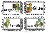 Turtle Labels for the Classroom