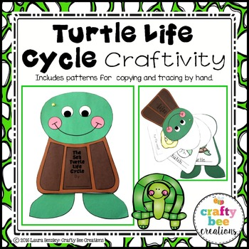 Turtle Life Cycle Craftivity