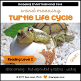 Turtle Life Cycle • Reading Comprehension Passages and Questions • RL I