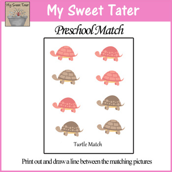 Turtle Match Sheet