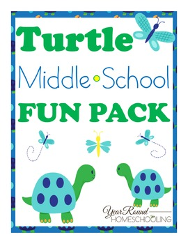 Turtle Middle School Fun Pack