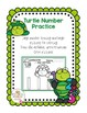Turtle Number Practice for Toddlers