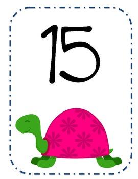Turtle Numbers 1-20