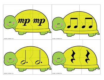 Partner Cards: Turtle Cards for Choosing Partners {Music Symbols}