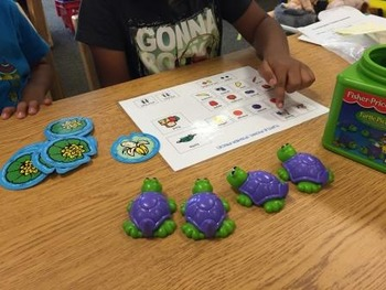 """""""Turtle Picnic"""" Adapted Game Board for Functional Communication"""