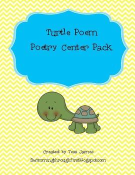 Turtle Poem Poetry Center Pack