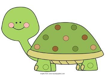 Turtle Pom Pom Activity
