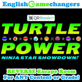 Turtle Power Back to School REVERSE Escape Room: Break IN to ANY Class!