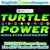 Turtle Power Back to School REVERSE Escape Room: Break IN
