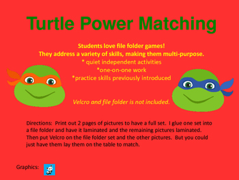 Turtle Power Matching