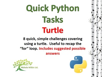 Turtle (Quick Python Programming Challenges)
