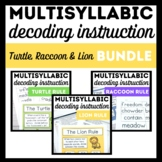 Turtle, Raccoon, and Lion Rule Bundle-Books 6, 7 & 8