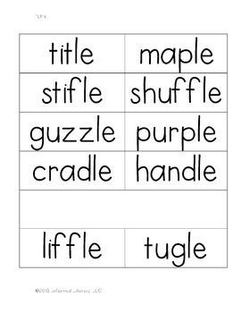 Turtle Rule Book 6-Advanced Multisyllabic Decoding Strategies